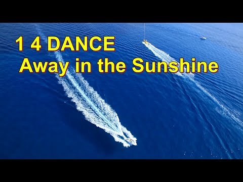 """1 4 DANCE - Away in the Sunshine (Official Music Video) (""""One for Dance"""") видео"""