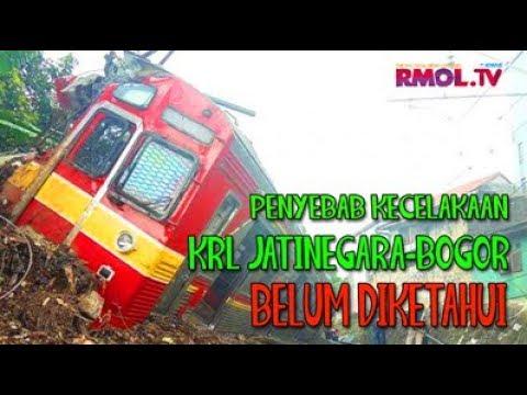 Penyebab Kecelakaan KRL Jatinegara-Bogor Belum Diketahui