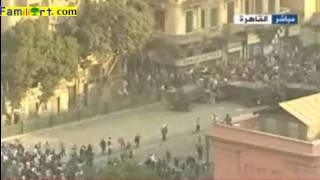 Egyptian Revolution Cairo 2-02-2011 Aljazeera Live part 2 ثورة مصر الجزيرة