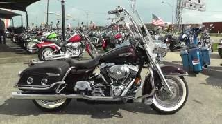 7. 651825 - 2005 Harley Davidson Road King Classic FLHRCI - Used motorcycles for sale