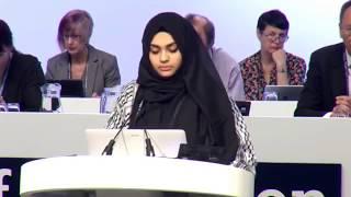 Video Ucapan Muslimah Pertahan Hijab yang Menggegar Eropah! MP3, 3GP, MP4, WEBM, AVI, FLV Oktober 2018