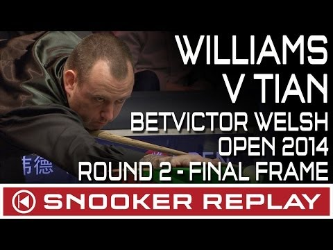Mark Williams v Tian Penfei - BetVictor Welsh Open Round 2