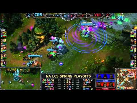 curse gaming - League of Legends Curse Gaming (CRS) vs Team Vulcan (VUL) - League of Legends LCS 2013.