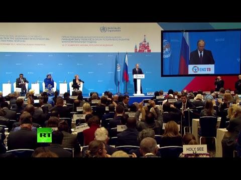 Выступление Путина на открытии конференции ВОЗ — LIVЕ - DomaVideo.Ru