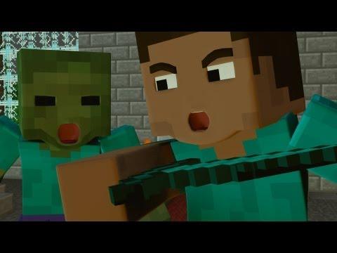 Fighting a Siege - Minecraft Fight Animation