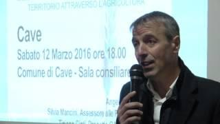 Intervista al Sindaco Lupi di Cave