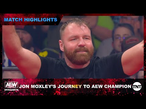Jon Moxley's Journey to AEW Champion [Match Highlights]