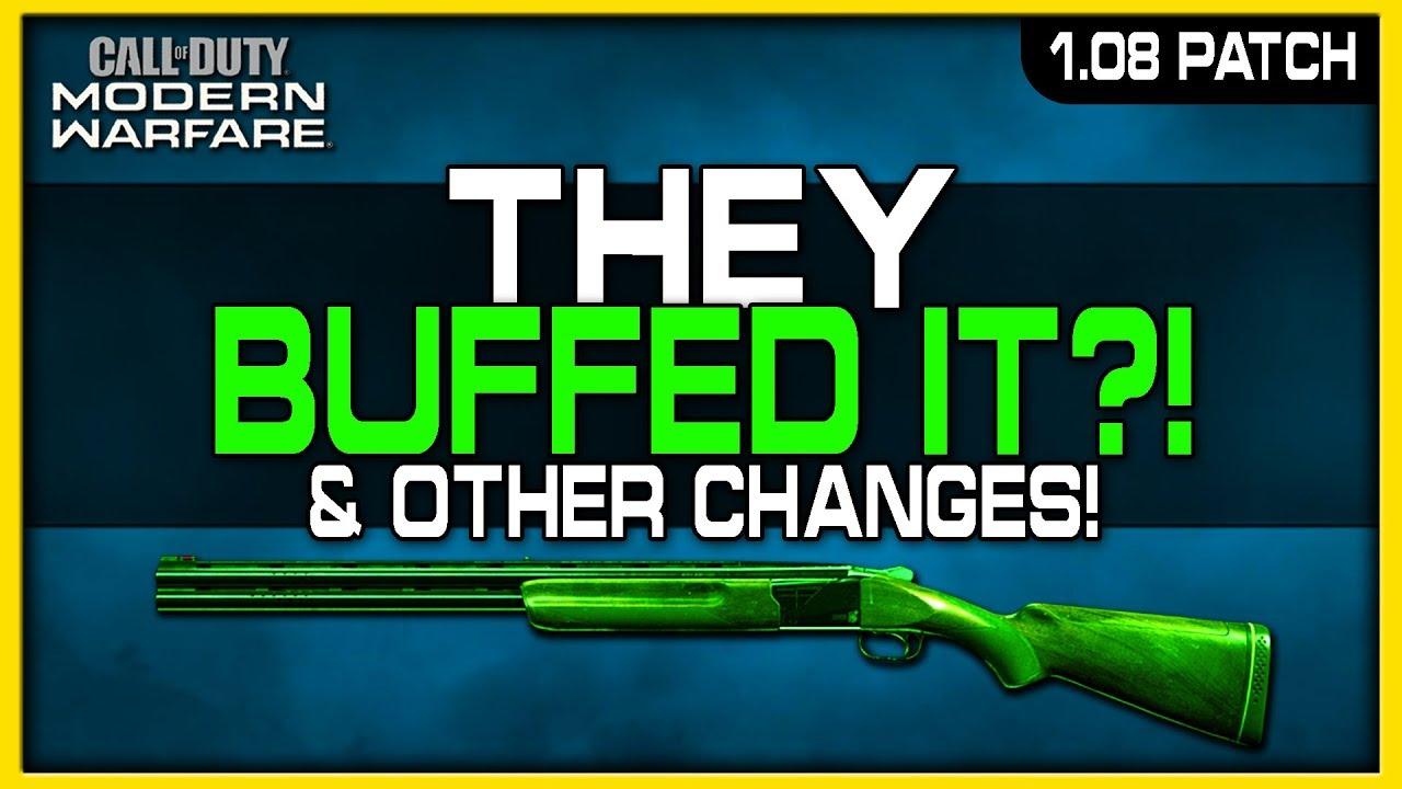 Modern Warfare: tưởng bị giảm sức mạnh, shotgun 725 còn