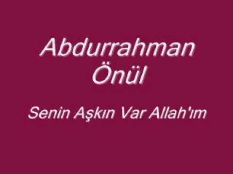Abdurrahman Önül – Aşkınla Yak Sözleri