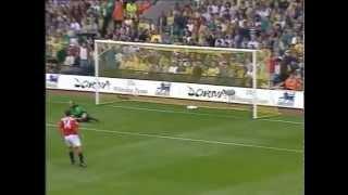 Bryan Robsons Tor gegen Manchester United