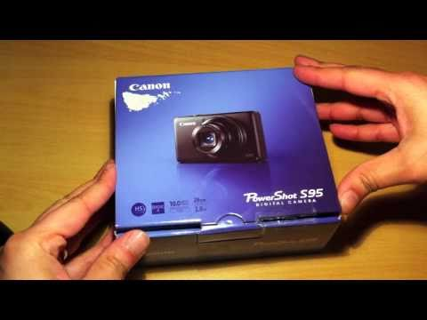 Canon PowerShot S95 - Unboxing & Overview