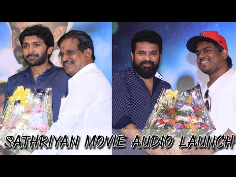 Sathriyan Movie Audio Launch | Highlights