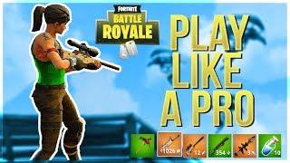 Video HOW TO WIN   Play Like A Pro (Fortnite Battle Royale) MP3, 3GP, MP4, WEBM, AVI, FLV Desember 2018