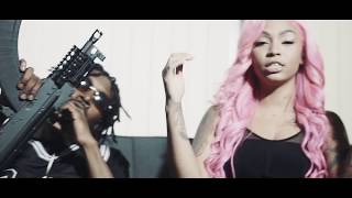 "The official music video of Joseph McFashion ""Raw"" Feat. Molly Brazy x Cuban Doll x AllStar JR x FMB DZ produced by..."