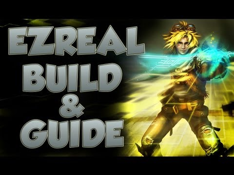ezreal build - Ezreal build with special guest player TheGameStation. Build- Lvl 1 Boots and pots or Dorans Blade Sheen build in to Trinity Force Vampiric Scepter (build la...