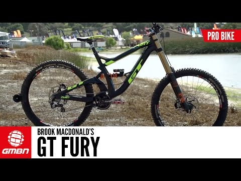 Brook Macdonald's GT Fury Downhill Bike