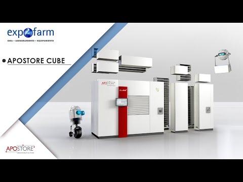 Robot de farmacia Apostore Cube
