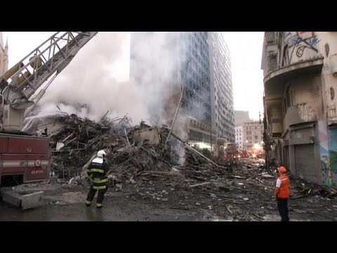 Tödlicher Hochhausbrand in São Paulo