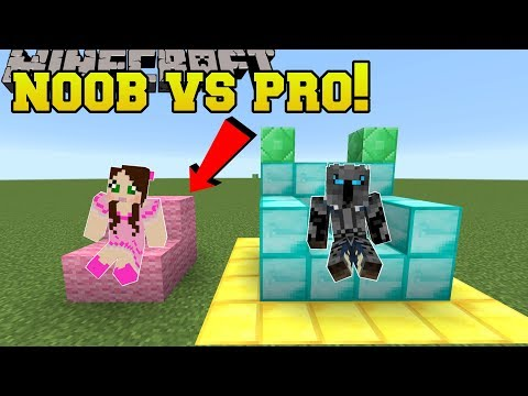 Minecraft: NOOB VS PRO!!! - BUILD BATTLE!! - Mini-Game (видео)