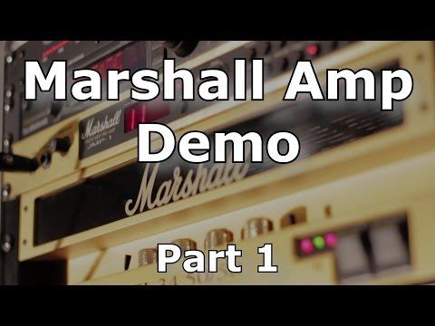 Marshall Amp Demo (JMP-1 / EL-34 50/50) - Part 1 - Clean