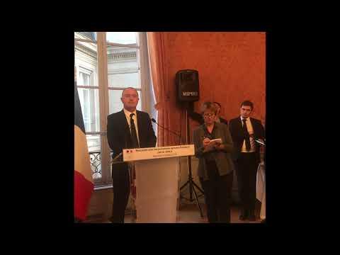 Пресконференция на министъра на земеделието на Франция в Париж
