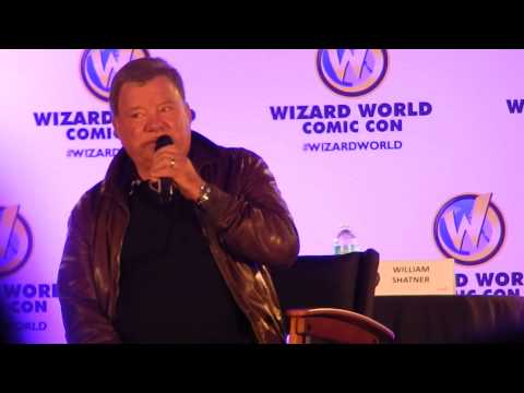 Nashville - Shatner discusses possible involvement in Star Trek 3.