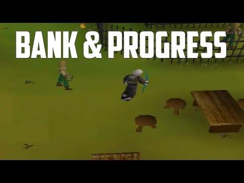 Oldschool Runescape 2007: Bank Video & Progress! [11/15/2015]