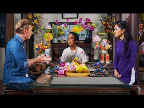 Hành trình văn hóa Việt tập 14 | Độc đáo Làng hoa giấy Thanh Tiên xứ Huế
