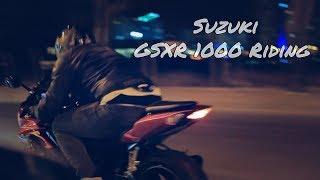 3. Suzuki GSX-R 1000 Riding // Akrapovic exhaust VERY LOUD [HD]