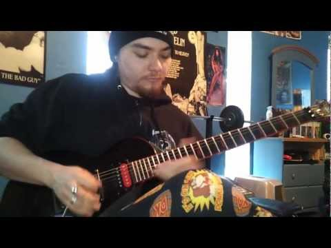 SLAYER-Behind The Crooked Cross- GUITAR COVER- ALL SOLOS INCLUDED!!