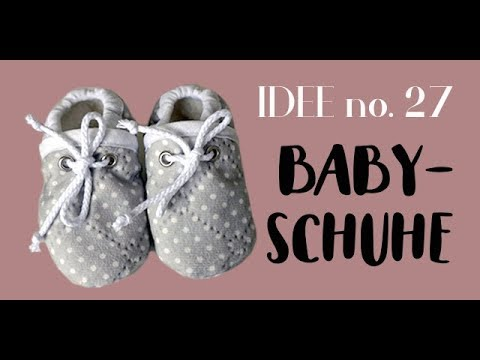 DIY Babyschuhe / Krabbelschuhe selber nähen I Idee no. 27