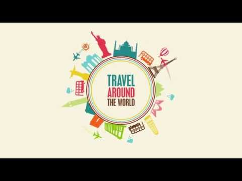 TRAVEL AROUND THE WORLD – Motion Graphics Test