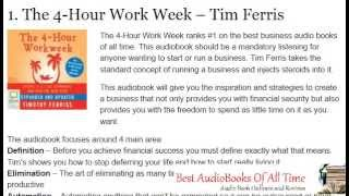Top 20 Business Audiobooks Of All Time