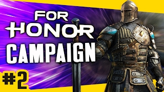 Gameplay For Honor Campaign - Knight #2