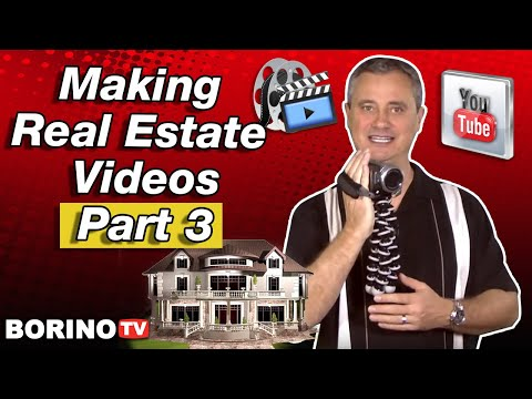 Real Estate Marketing Tip: Making Real Estate Videos