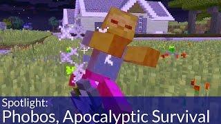 Phobos, Apocalyptic Survival Minecraft Map