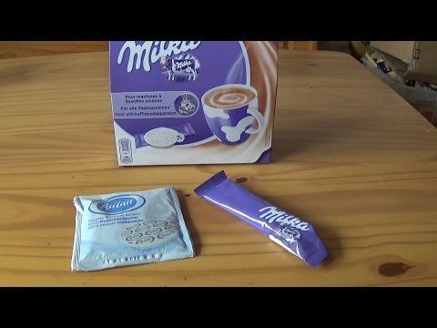 Milka Trinkschokoladen Pads - unboxing und Test