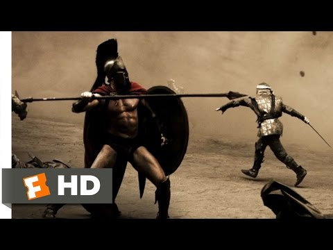 300 (2006) - The Warrior King Scene (3/5) | Movieclips