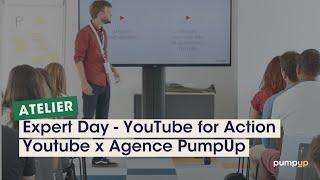 Video : Atelier Youtube et PumpUp : passons à la vitesse supérieure