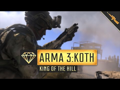 ARMA 3: KING OF THE HILL. GAMEPLAY MONTAGE