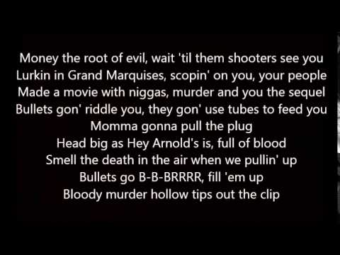 Meek Mill - Ambitionz (Lyrics) NOT MUTED !!!
