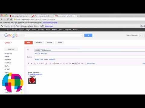 How to Send and Receive a Fax with Gmail