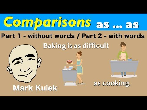 Frases cortas - As...As comparisons - English grammar  English for Communication - ESL