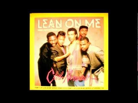Tekst piosenki Club Nouveau - Lean On Me po polsku
