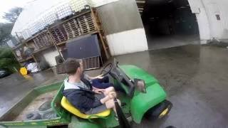 9. John Deere Gator Fast and Furious Farmer !