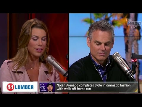 Nolan Arenado hits for the cycle in dramatic fashion | THE HERD