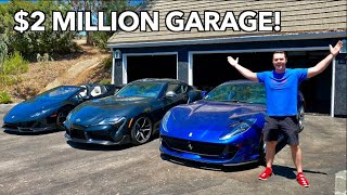 MY $2 MILLION DREAM GARAGE IS FINALLY DONE! by Vehicle Virgins
