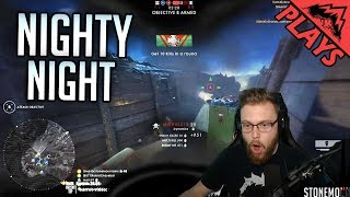Frontlines on the new night map! An intense battle mostly trying to defend and rally a losing team. Watch these streams live on Facebook: ...