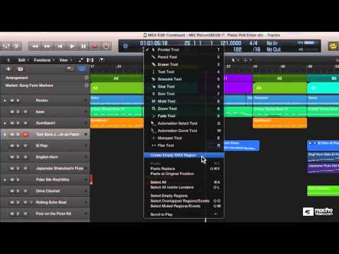 Logic Pro X 104: Core Training: MIDI Recording and Editing – 9. The Piano Roll – Overview