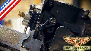 3. CV Carburator Rebuild and float adjustment - ep 18 eng - Roma Custom Bike